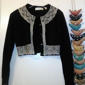 SOLD Anthropologie cropped cardigan